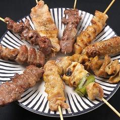 料理メニュー写真おまかせ串盛合せ(10本)
