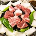 料理メニュー写真ジンギスカン一人前(肉/野菜)