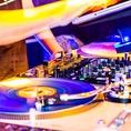 【DJブース】もちろんお客様ご自身でパフォーマンス可能!DJも紹介できます!