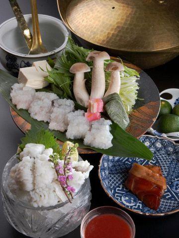 【はもしゃぶ】フルコースや本格的な京料理を堪能できるお店!