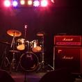 【ドラムセット】ライブもできます!音響スタッフもいますので完全サポート致します!