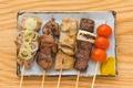 料理メニュー写真豚串単品(2本)