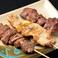 料理メニュー写真-豚串- バラ/カシラ/タン