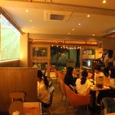 大型スクリーンの専用プロジェクタではスポーツ観戦や映像投影にもご利用いただけます!
