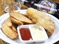 料理メニュー写真フィッシュ&チキン&チップス