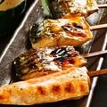 料理メニュー写真干物串焼き おまかせ5本