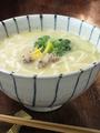 料理メニュー写真鶏白湯スープうどん