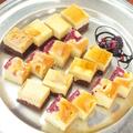 料理メニュー写真プチケーキ2種