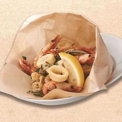 料理メニュー写真魚介のフリットミスト ナポリ風