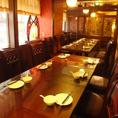 6名~17名個室は歓送迎会など会社宴会にオススメです。