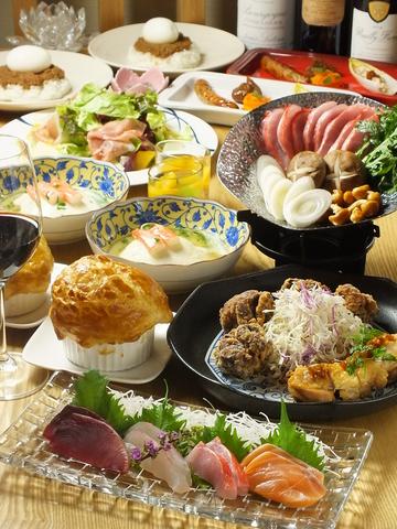 お洒落な空間と極上の料理で特別な時間を・・・☆