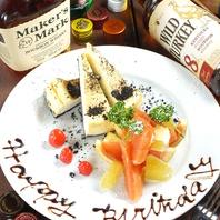 誕生日特典多数!★全コース+1000円で無制限飲放!