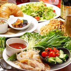 Resort Cafe Lounge Lino リノのコース写真