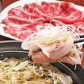 料理メニュー写真漢方三元豚 葱しゃぶ