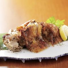 鶏もも肉の黒胡椒焼き