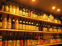 全国銘酒の数々。