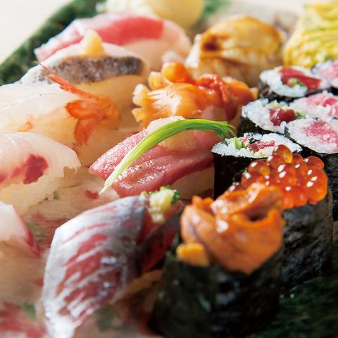 職人が握る寿司 食べ放題 鮨と肴 しろ昌 岐阜駅店