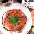 料理メニュー写真牛コーネのカルパッチョ