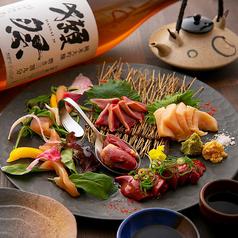 日本酒×炭火バル からんとのおすすめ料理1