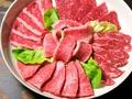 料理メニュー写真看板肉5種盛