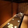 中人数宴会もお任せ!!広々と開放的な和空間でお食事をお楽しみいただけます♪全席完全個室なのでプライベート空間を存分にご堪能ください。