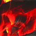 コダワリの備長炭で焼き上げます♪