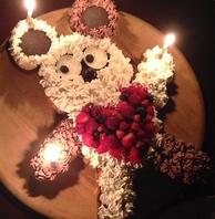 記念日にケーキプレゼント