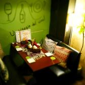 奥フロアのテーブル席☆もちろんソファー席