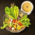 料理メニュー写真有機野菜の農園バーニャカウダー