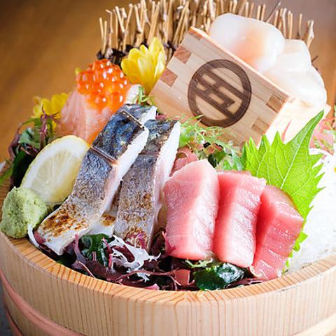 江戸川橋駅徒歩2分♪産地直送の朝獲れ鮮魚と国産鶏の数々をご堪能いただけます◎