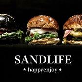 Hamburger&SandwichCafe SAND LIFE 東武宇都宮のグルメ