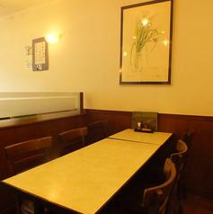6名テーブル席