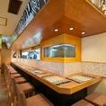 タイ料理店でのカウンターは珍しいかも?