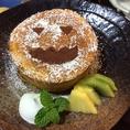 <季節のデザートの紹介>10月 かぼちゃのガトーショコラ