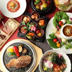【2時間飲放付】コースは4000円~サムギョプサルや焼肉などが食べれます♪
