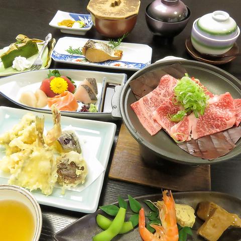 カウンター席ではなくても揚げたての天ぷらが味わえる!!