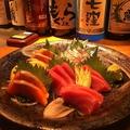 料理メニュー写真鮮魚三種盛り