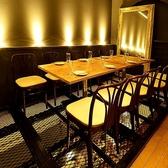 ◆3F 明るい店内で皆様をご案内いたします。気取らずにお寛ぎできるイタリアンダイニングの当店は女子会・ママ会など各種パーティシーンやご会食におすすめです!
