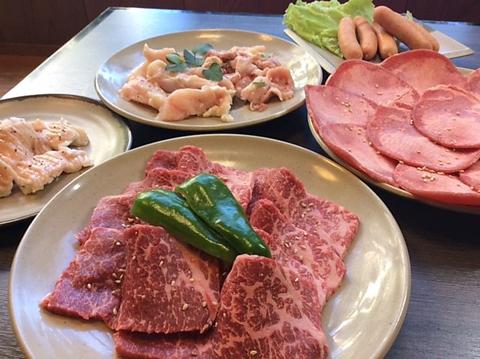 新鮮な肉をお値打ち価格で!食材にこだわり、仕入れは厳選されている!!