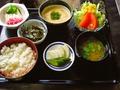 料理メニュー写真麦とろ定食
