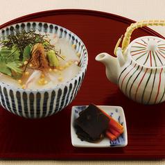 料理メニュー写真真鯛の胡麻味噌茶漬け