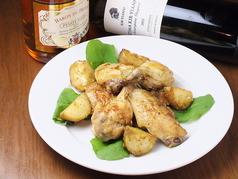 料理メニュー写真【new!!】地鶏と新じゃがのロースト~タイムとローズマリー風味