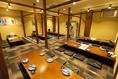 周りを気にせず食事をお楽しみ頂ける個室をご用意。 ※写真はイメージです。