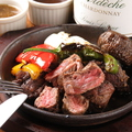 料理メニュー写真鉄板BBQ お肉&野菜