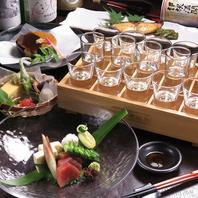 京都を一周できる利き酒セット♪