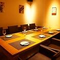 人気の完全個室はカフェのような明るい空間。居酒屋とは思えないような雰囲気の中で、当店自慢のお料理や豊富なドリンクをお楽しみください!