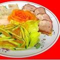料理メニュー写真前菜三種盛り合わせ