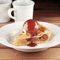 料理メニュー写真ホットキャラメルアップルパイ Hot Caramel Apple Pie