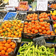 新鮮な野菜の数々!!