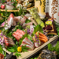 海鮮料理も大好評!産直の新鮮魚介料理を銀座でご堪能!